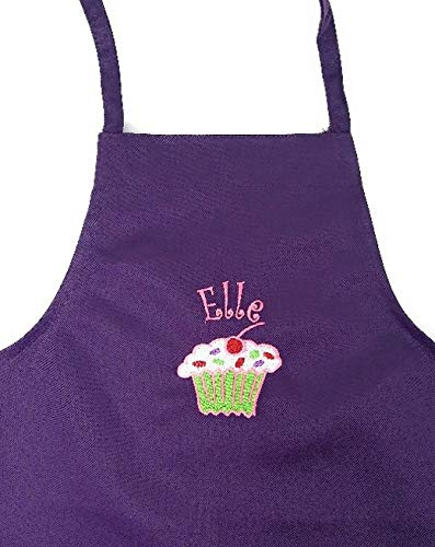Personalized Child Apron Embroidered With Name and ()