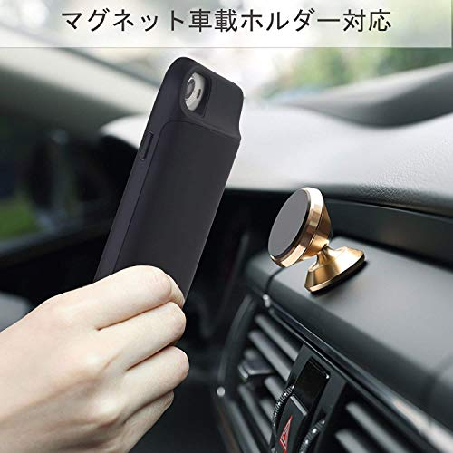 47fe9393de Mozeat アップグレード版 4.7インチiPhone 6 6s 7 8バッテリーケーススリム充電式保護