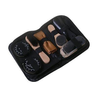 Generic Care Kit Bl Shoes Brush re Kit Bla Black Leather Shoe Ca Shoe Care Kit New Leather Set Travel Bag Case Case New Shine Polishing Bag Case New