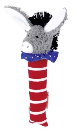 Kathe Kruse - Donkey Tomato Stuffed Squeaky Toy ()