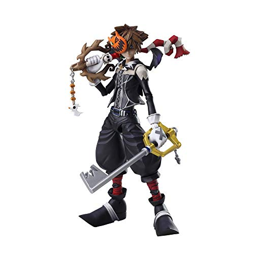 Square Enix Kingdom Hearts II Sora Halloween Town Version Bring Arts Action Figure]()