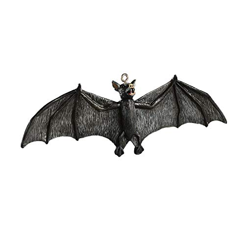 Nibbles For Halloween Party (HorrorNaments Gone Batty Horror Ornament - Scary Prop and Decoration for Halloween, Christmas, Parties and)