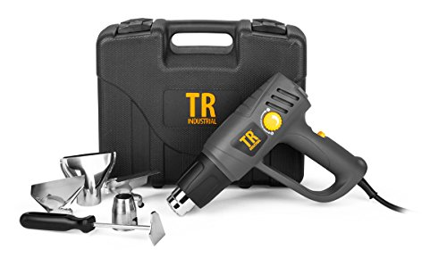 TR Industrial 89200 1500W Heat Gun Kit with Variable Temperature Control ()