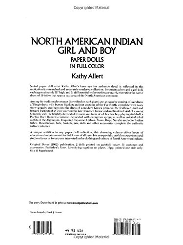 Review North American Indian Girl