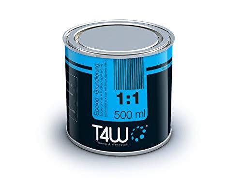 T4W epoxidfü ller é poxy base 1:1 stylo anti - 0, 5 kg (59069 durcisseur 0, 5 kg)