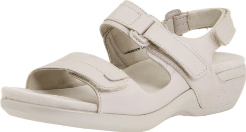 Aravon Womens Katy Pearl Sand Leather
