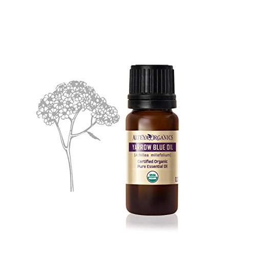 (Alteya USDA Organic Yarrow, Blue Essential Oil/Achillea Millefolium/ - 10ml)