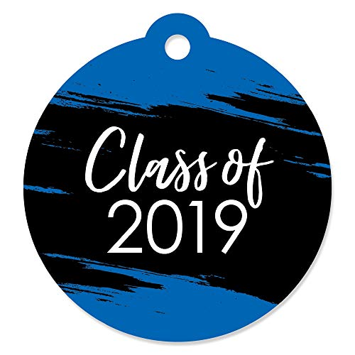 Blue Grad - Best is Yet to Come - Royal Blue 2019 Graduation Party Favor Gift Tags (Set of -