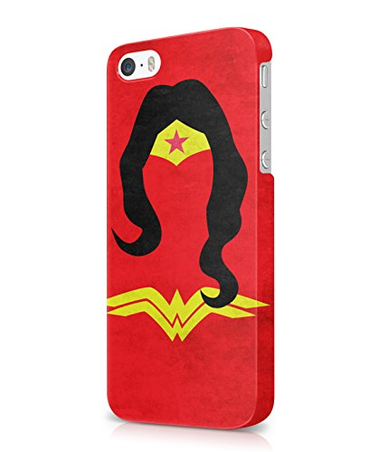 Wonder Women DC Comics Plastic Snap-On Case Cover Shell For iPhone 5 / 5s