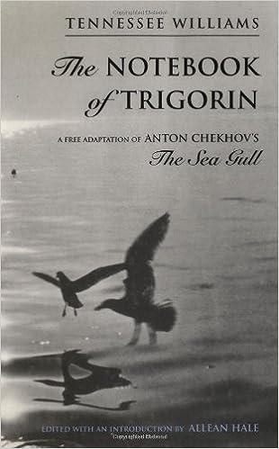the notebook of trigorin a free adaptation of chechkovs the sea gull
