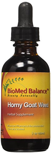 BIOMED BALANCE Horny Goat Weed Supplement, 2 Fluid Ounce Weed Liquid