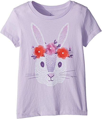 Peek… Baby Girl's Hip Hop Hooray Tee (Toddler/Little Kids/Big Kids) Lavender X-Small by Peek...
