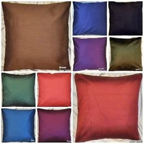 Saffron 20 Solid Cushion Cover In Outdoor Pillow Case 10 Color Lot Of 50 Hd Ehs