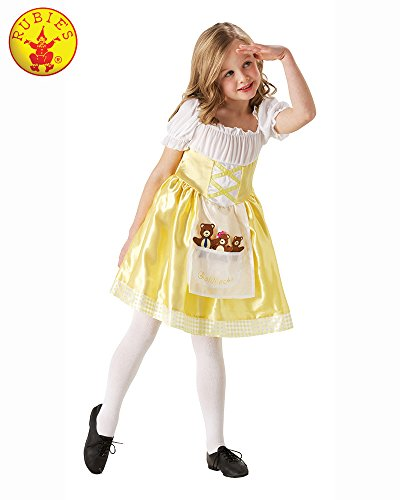 Rubie's Official Toddler's Goldilocks Fancy Dress]()