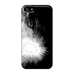 New Style JGOke Light Darkness Premium Tpu Cover Case For Iphone 5/5s