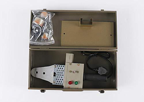 Soldador de Tuberia Plastica 500W,220V-50Hz 20-32mm,Control de Temperatura,Polifusor Kit Soldadura para PPR/PE/PPE/PERT: Amazon.es: Bricolaje y herramientas