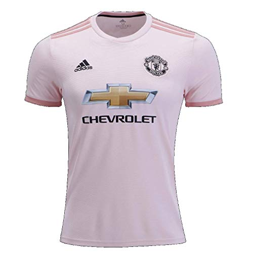 - adidas World Cup Soccer Manchester United Soccer Youth Manchester United FC Away Jersey, Large, Icey Pink