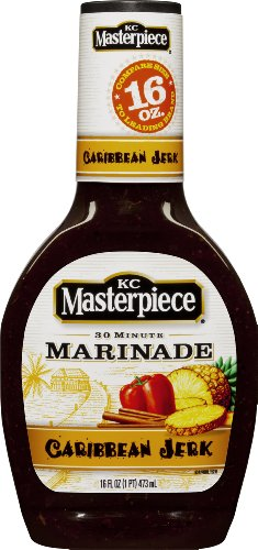 KC Masterpiece Caribbean Jerk Marinade Sauce