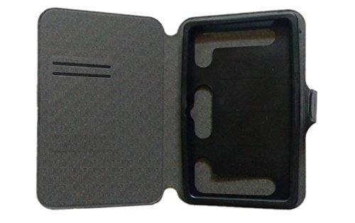 KANICT Tablet Leather Flip Case Cover Compatible for iBall Slide 6095 D20 Q700 3G  Black