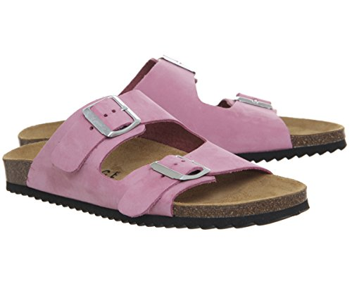 Office Hype 2 Double Strap Sandals Pink Nubuck p59Wx1xzn