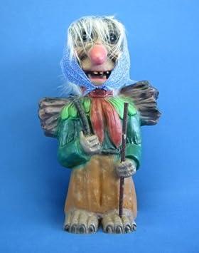 Dekofigur Waldfrau Höhe 60 cm Figur aus Kunststoff