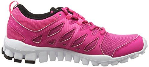 para Mujer 0 Interior Deportivas White Zapatillas Black Trainer Reebok Rose Poison Realflex 4 para Pink Pink Rage w0xq0zY