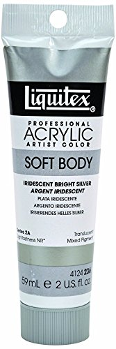 Liquitex Professional Soft Body Acrylic Paint 2-oz tube, Iri