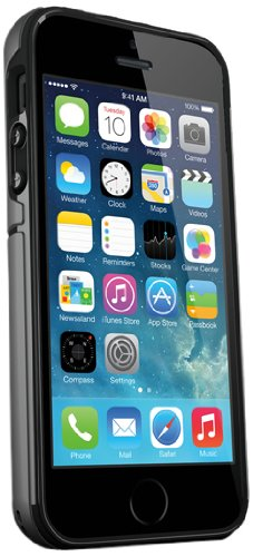iSkin iSkin EXO5S5BKC Exo iPhone 5/5S Black/Carbon - Carrying Case - Retail Packaging - Black ()