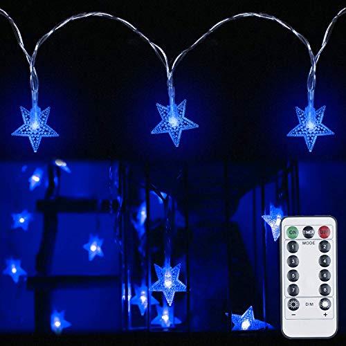 Blue Led Star Lights in US - 1