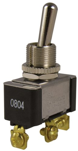 Gardner Bender GSW-13  Heavy Duty Electrical Toggle Switch, SPDT, ON-OFF-ON,  20 A/125V AC,  Screw Terminal