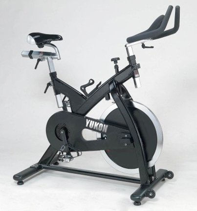 Higol Pro Stationary Indoor Cycling Bike Yukon Fitness