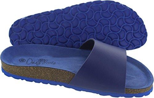 Sandales Tropical Bleu Roots Blue Femme Daisy pour Bleu qFtv5n