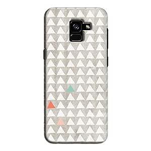 Cover It Up - Odd Hills Grey Galaxy A8 2018 Hard Case