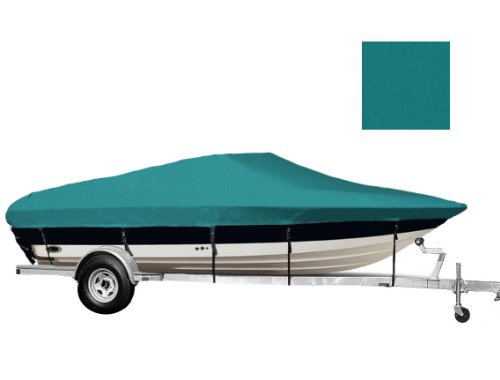 TLSBU 6.25oz SEMI-Custom Boat Cover for SEA RAY 210 SUNDECK I/O 2000-2002 (Sea Ray 210 Sundeck)