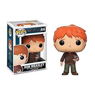 Funko Pop Movies Harry Potter-Ron Weasley with Scabbers Toy: Funko Pop! Movies:: Toys & Games