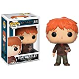 Funko Ron Con Sabbers Figurina de Vinillo, Colección Harry Potter POP Movies, 9 cm (14938)
