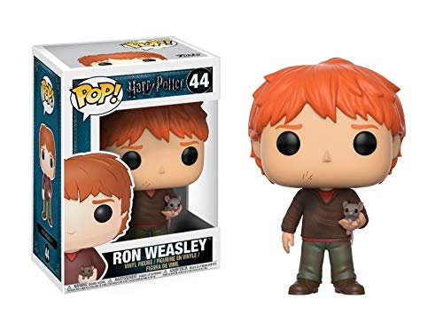 Funko Ron Con Sabbers Figurina de Vinillo, Coleccion Harry Potter POP Movies, 9 cm (14938)