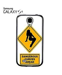 Dangerous Curves Ahead Mobile Cell Phone Case Samsung Galaxy S4 Black