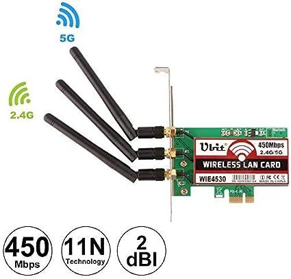 Amazon.com: Ubit - Adaptador de tarjeta PCI-E Express ...