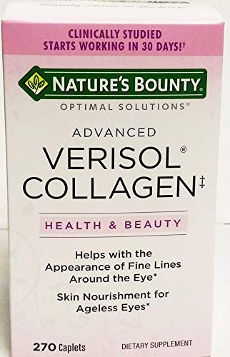 - Nature's Bounty Advanced Verisol Collagen, 270 Caplets