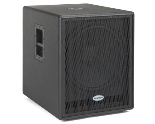 Samson Auro D1800 - 500 Watts 18-Inch Active Subwoofer Enclosure by Samson Technologies