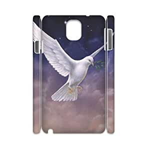 White Dove Personalized 3D Cover Case for Samsung Galaxy Note 3 N9000,customized phone case ygtg585351