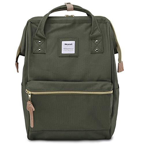 Himawari Travel Backpack Laptop Backpack Large Diaper Bag Doctor Bag Backpack School Backpack for Women&Men (xk green)