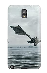 High-quality Durable Protection Case For Galaxy Note 3(skyrim)