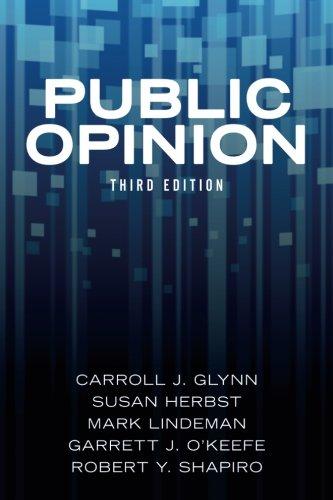 Public Opinion (International Public Opinion)