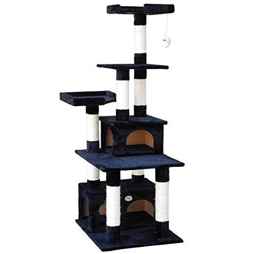 GoPetClub Scratcher Post Cat Tree