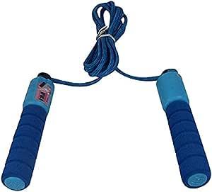 حبل قفز مع عداد، ازرق