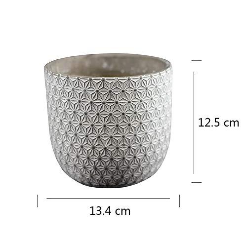 Molde de silicona para jarrón de cemento, para hormigón, maceta, bolígrafo, barril, herramienta de decoración de escritorio: Amazon.es: Juguetes y juegos