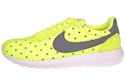 Nike Womens Roshe Ld-1000 Print Atletische Sneaker Schoenen-volt / Cool Grijs Volt / Cool Grijs-wit-veiligheid Oranje