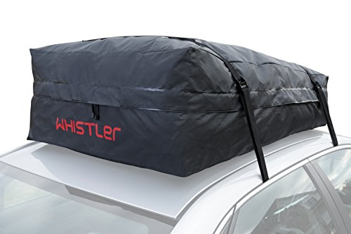 Car Roof Bag Bundle 100 Waterproof Top Cargo NO RACK NEEDED Non Slip Mat Storage For Any Van Or SUV 15 Cubic Feet